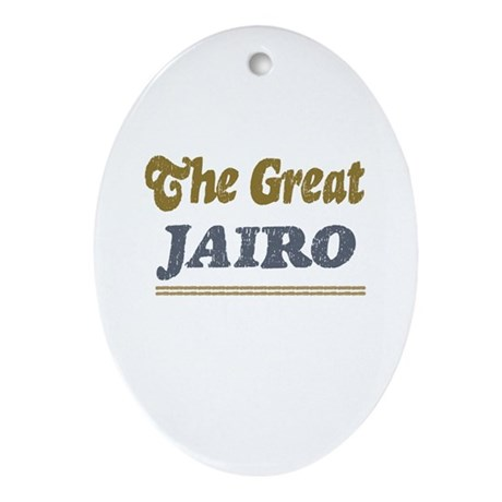 Jairo Oval Ornament