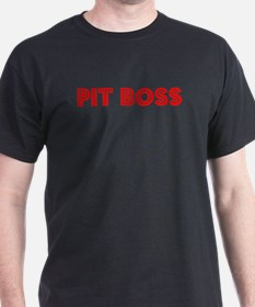 Retro Pit Boss (Red) T-Shirt