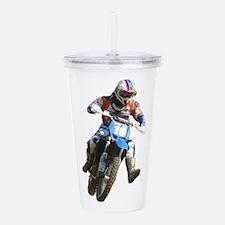 Enduro race Acrylic Double-wall Tumbler
