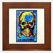 La Calavera Framed Tile