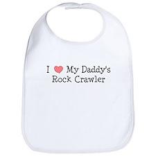 My Daddys Rock Crawler Bib