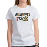 Alligators Rock Gator Reptile Women's T-Shirt