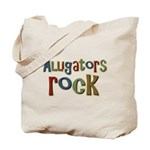 Alligators Rock Gator Reptile Tote Bag