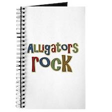 Alligators Rock Gator Reptile Journal