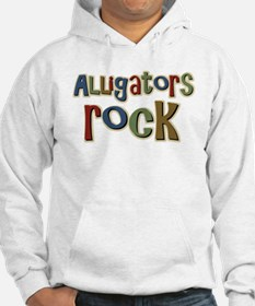 Alligators Rock Gator Reptile Hoodie
