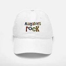 Alligators Rock Gator Reptile Baseball Baseball Cap