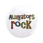 "Alligators Rock Gator Reptile 3.5"" Button (100 pac"