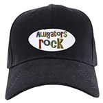 Alligators Rock Gator Reptile Black Cap