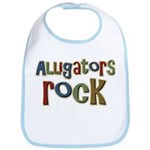 Alligators Rock Gator Reptile Bib
