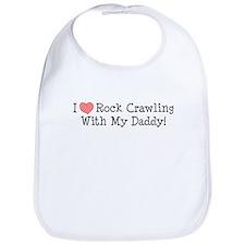Crawling with Daddy Bib