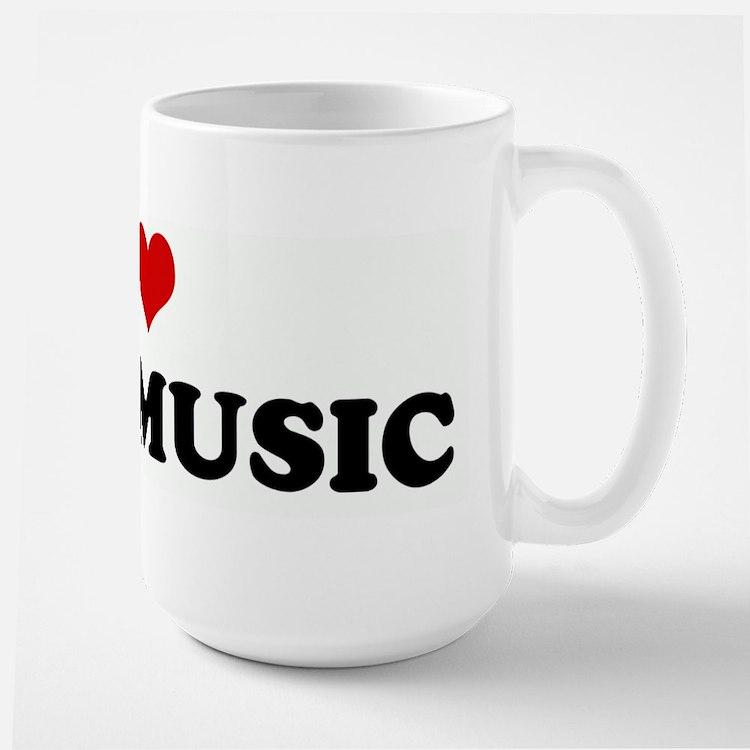 I Love SOUL MUSIC Mugs