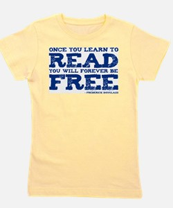 Cute Free to read Girl's Tee
