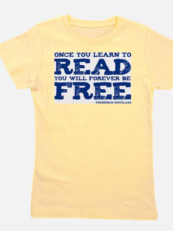 Cute Free to read Girl's Tee