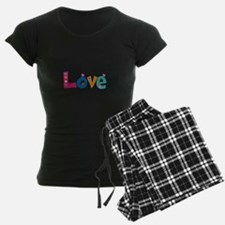 Cute Colorful Love pajamas