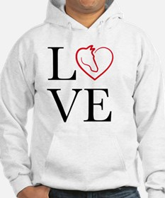 I Love horse riding Hoodie