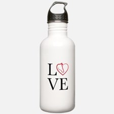 I Love horse riding Water Bottle
