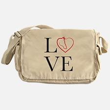 I Love horse riding Messenger Bag
