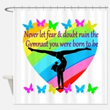 GYMNAST GOALS Shower Curtain