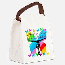 GYMNAST GOALS Canvas Lunch Bag