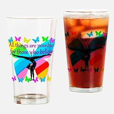GYMNAST GOALS Drinking Glass