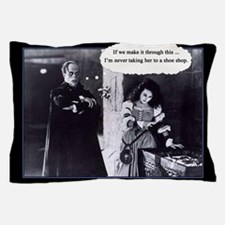 Phantom with an indecisive Christine Pillow Case