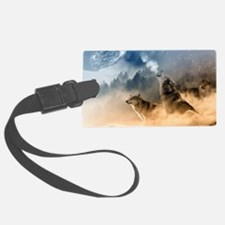 Cool Wolf Luggage Tag