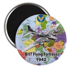 B-17 Flying Fortress WW2 Magnet