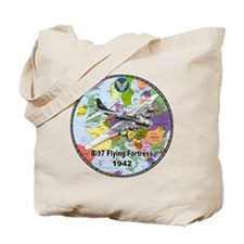B-17 Flying Fortress WW2 Tote Bag