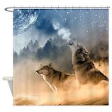 Wolf Shower Curtains