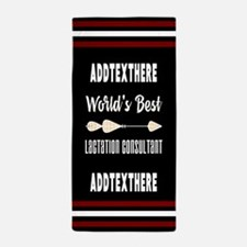 Lactation Consultant Gift Personalized Beach Towel