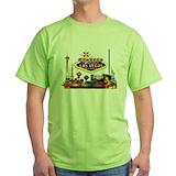 Las vegas Green T-Shirt