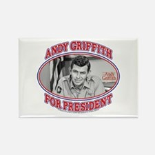 Andy Griffith for President Rectangle Magnet