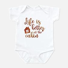 Life's Better Cabin Infant Bodysuit