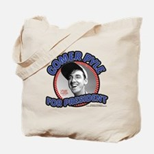 Gomer Pyle For President Tote Bag