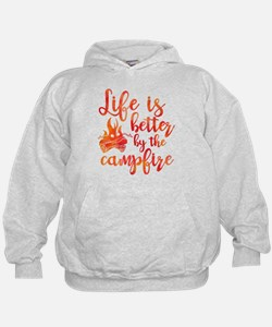Life's Better Campfire Hoodie