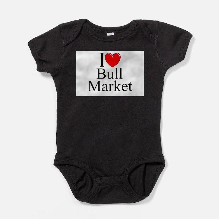 Cute Bear market Baby Bodysuit