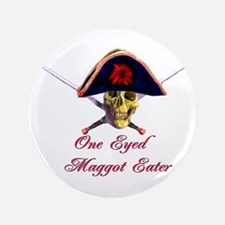 """One Eyed 3.5"""" Button (100 pack)"""