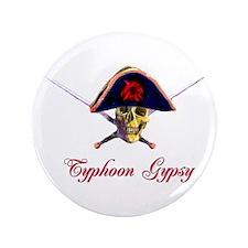 """Typhoon Gypsy 3.5"""" Button"""