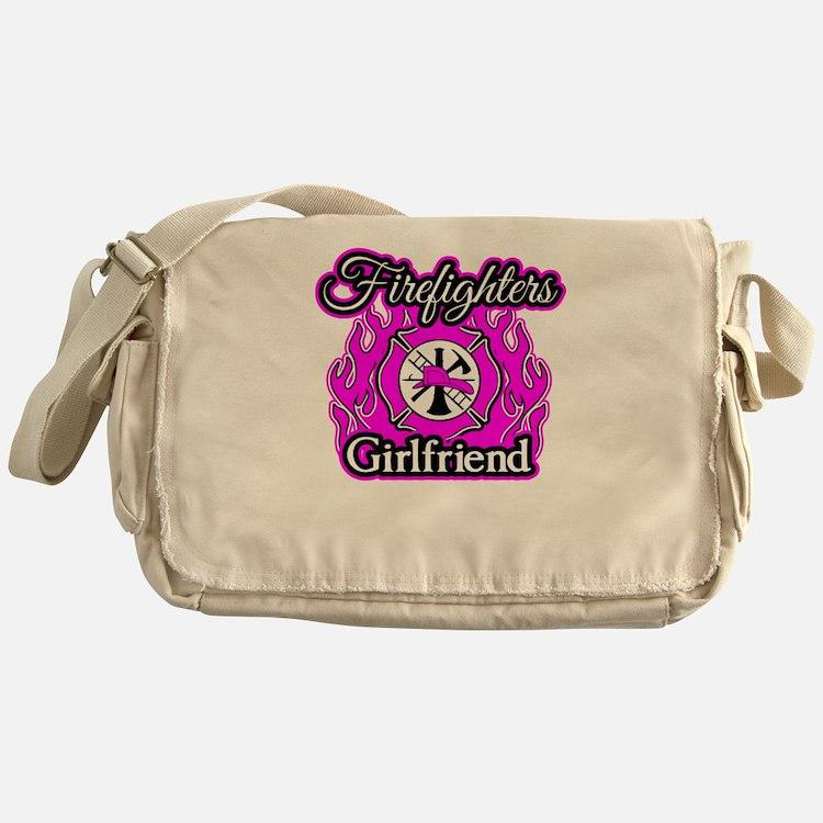 Firefighters Girlfriend Messenger Bag