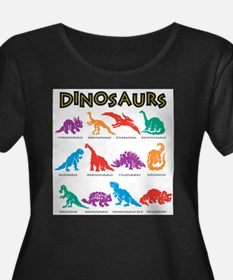 dinosaurs Plus Size T-Shirt