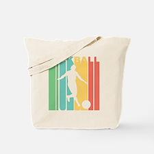 Retro Kickball Tote Bag