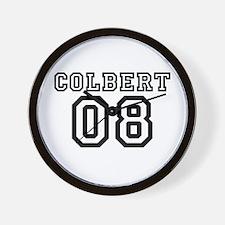 Team Colbert 08 Wall Clock