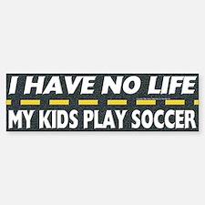 My Kids Play Soccer Bumper Bumper Bumper Sticker