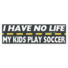 My Kids Play Soccer Bumper Bumper Stickers
