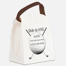 Hole In One Canvas Lunch Bag