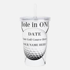 Hole In One Acrylic Double-wall Tumbler