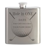 Hole in one Flask Bottles