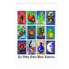Loteria Celeste Postcards (Package of 8)
