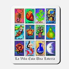 Loteria Celeste Mousepad