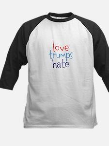 Love Trumps Hate Baseball Jersey
